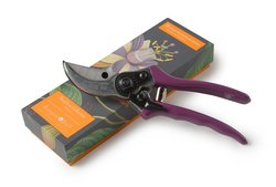 Burgon & Ball RHS Passiflora Collection Secateurs in Gift Box