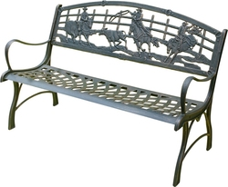 Cast Iron Bench Seat Campdrafting