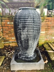 Large Urn Waterfeature in Atlantis Antique Finish