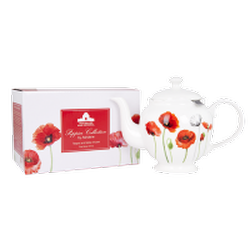 Ashdene Poppies Teapot with Infuser